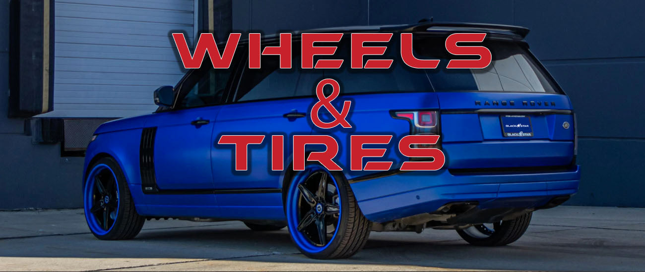 Aftermarket Wheels & Tires Sales and Installation for Exotic Sports Cars and Luxury Autos