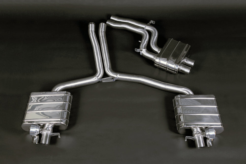 Audi RS5 - Valved Exhaust System & Mid-Pipes (No Remote)