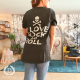 Tee-shirt Edison Love Rock Unisexe
