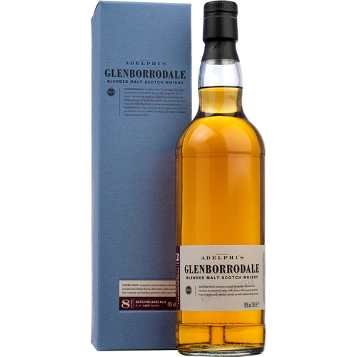 Adelphi Glenborrodale Batch 5 - Blended Malt - 8 Years Old - Sherry Cask