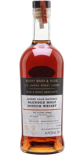 44 - Berry Bros. & Rudd Classic Range Blended Malts Sherry Cask