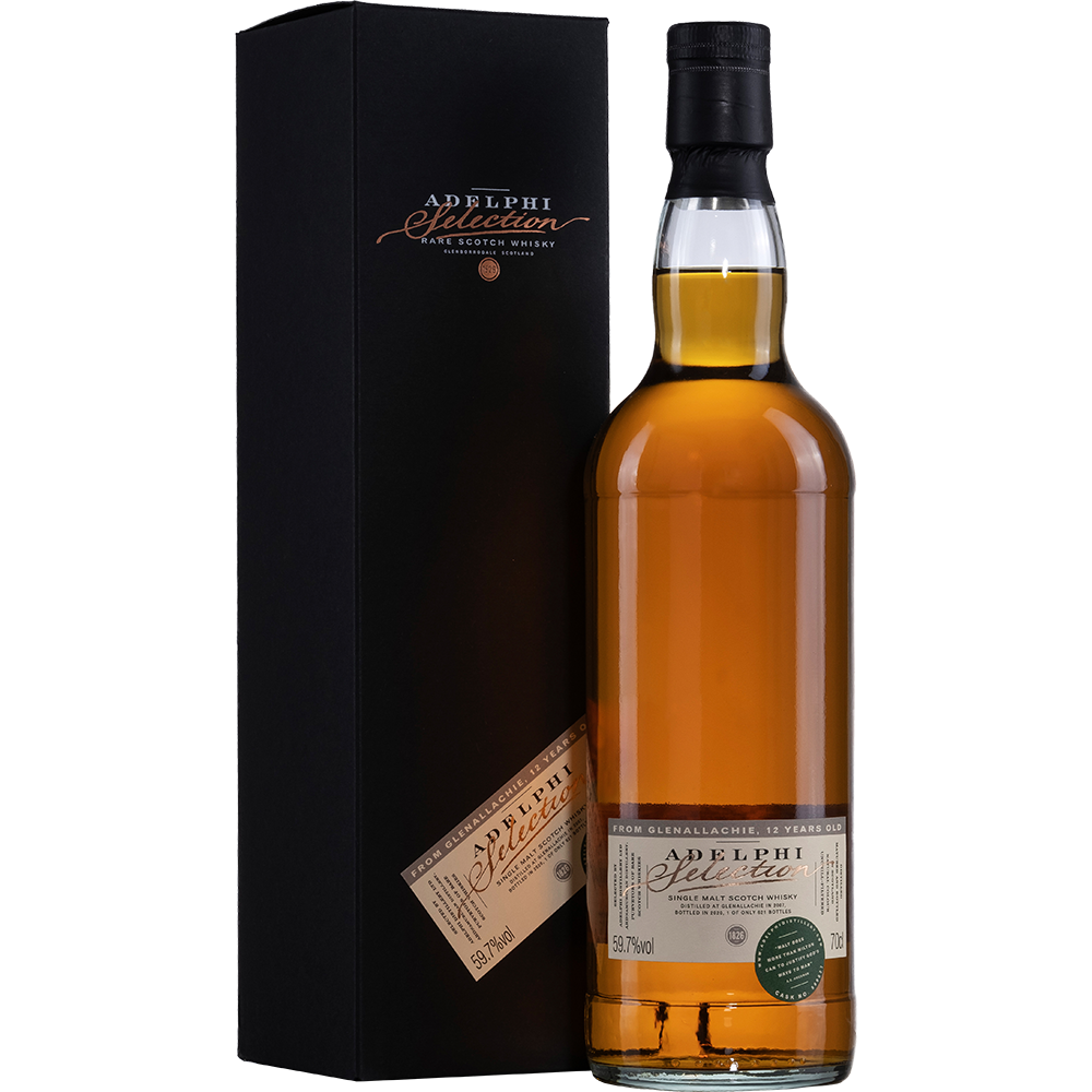 Adelphi Glenallachie 2007 - 12 Years Old - Sherry Cask