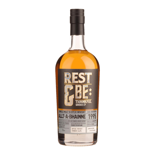 Rest and Be Thankful Allt-a-Bhainne 1995 - 21 Years Old - Bourbon Cask