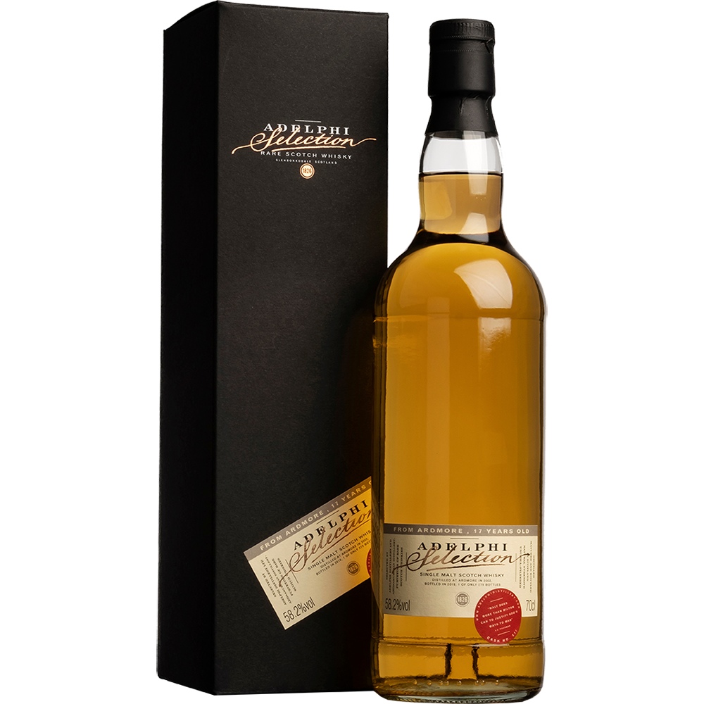Adelphi Ardmore 2002 - 17 years old - Bourbon Cask