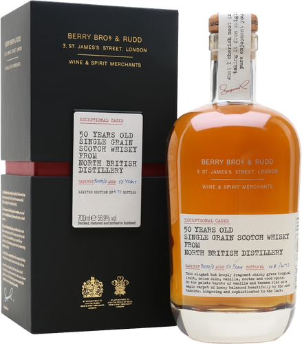 Berrys' Exceptional Cask North British 1962 - 50 Years Old