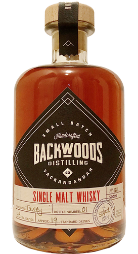 18.1 - Backwoods Distilling Co - Single Malt Whisky 1st Release
