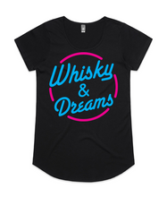 Load image into Gallery viewer, Whisky & Dreams T-Shirt - Female