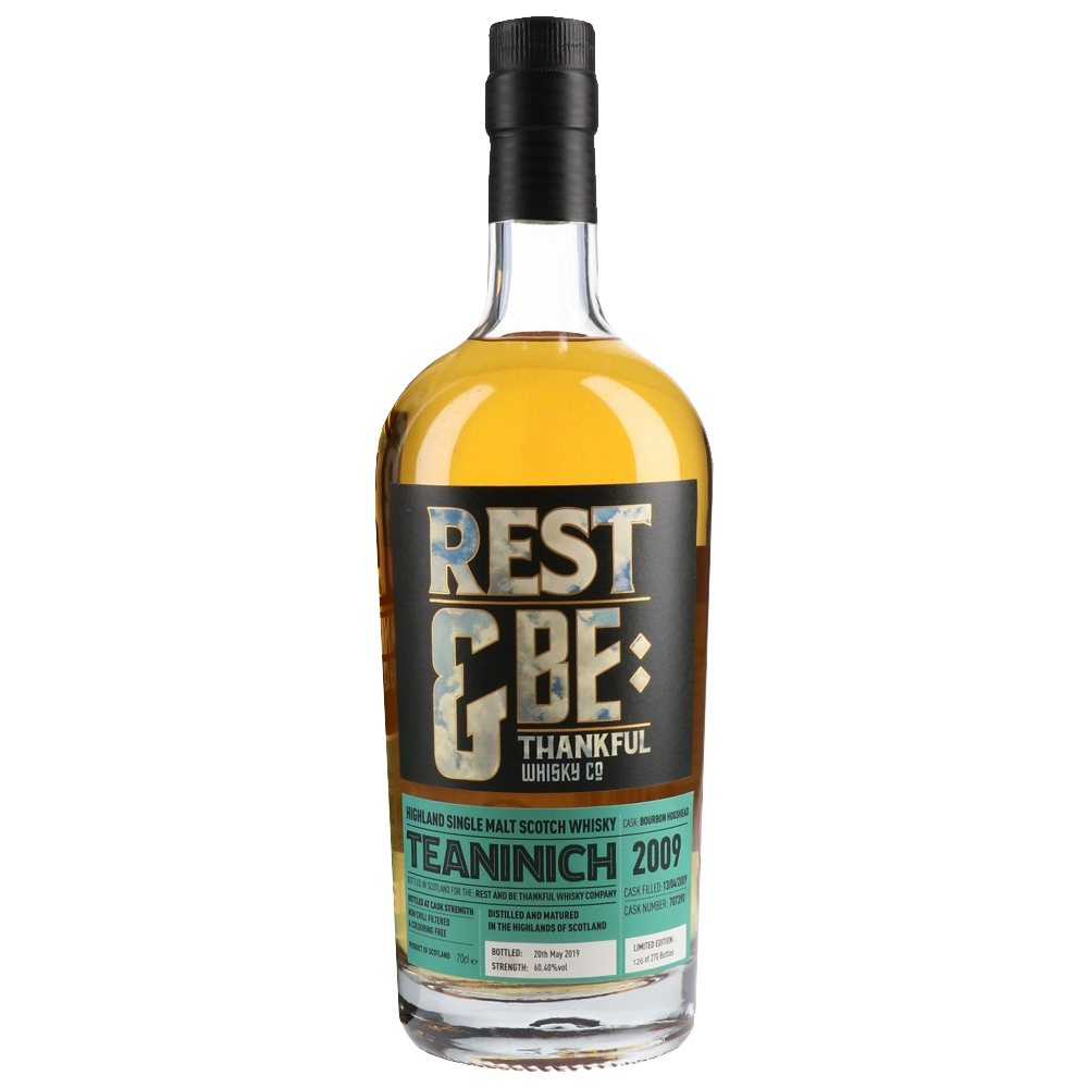 Rest & Be Thankful Teaninich 2009 - 10 Years Old - Bourbon Cask