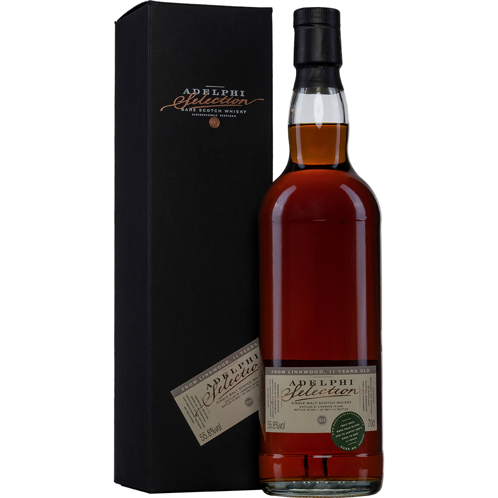 Adelphi Linkwood 2008 - 11 Years Old - Sherry Cask