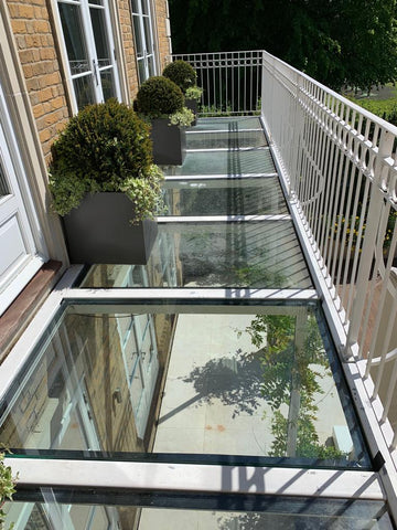 Balcony Glass Balustrade