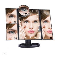 LED Make Up Vanity Mirror: 10x Magnifying Mirrors : https://1besttech.com