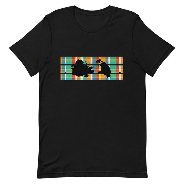 Antigua Madras T-Shirt [Black/White]
