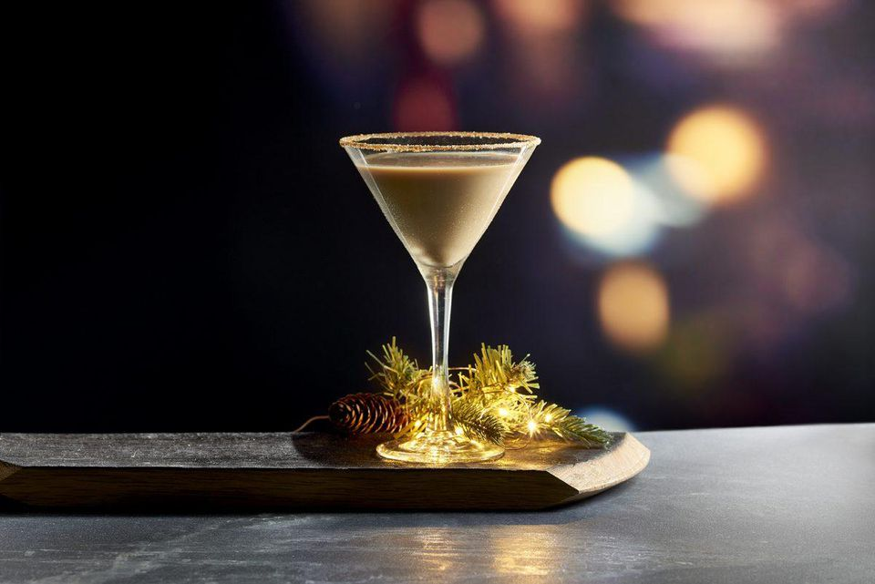 24k White Chocolate Martini