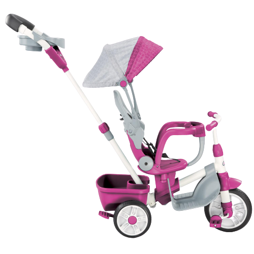 Little Tikes Perfect Fit 4-in-1 Trike - Pink - KidFocus