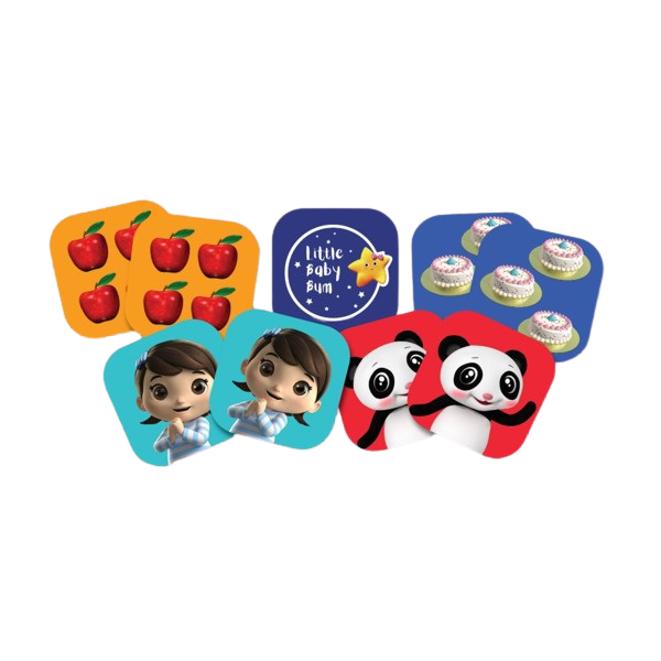 Little Baby Bum Picture Matching Game - KidFocus