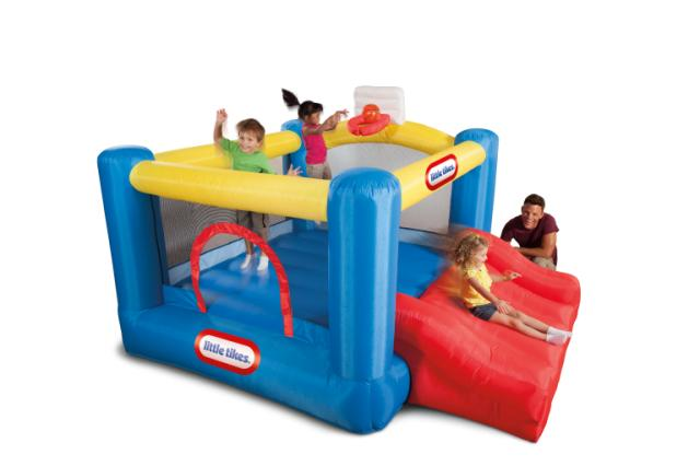 Little Tikes Junior Sports 'n Slide Bouncer - KidFocus