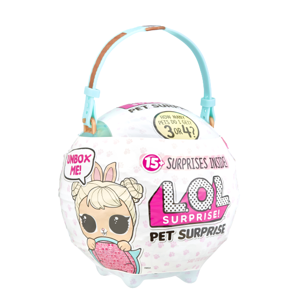 L.O.L. Surprise! Pet Surprise - Cottontail Q.T. - KidFocus