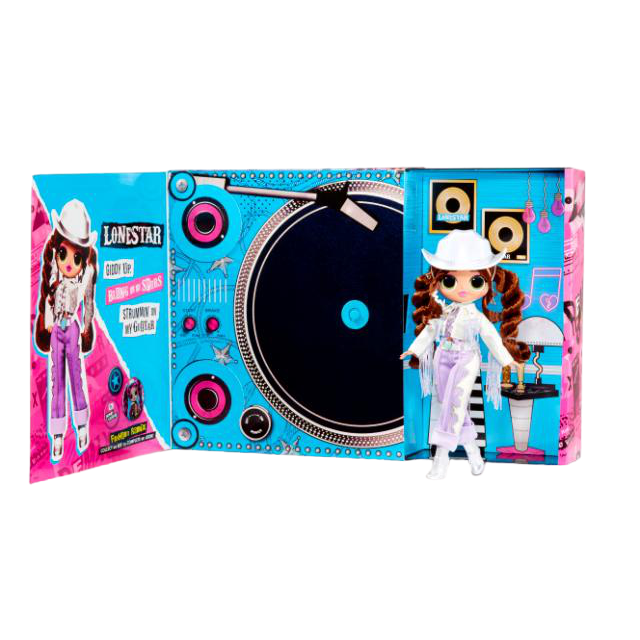 L.O.L. Surprise! O.M.G. Remix Lonestar Fashion Doll – 25 Surprises with Music - KidFocus