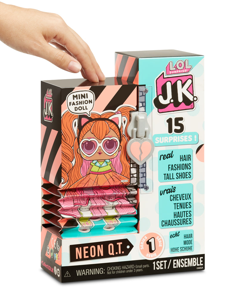 L.O.L. Surprise! JK Neon Q.T. Mini Fashion Doll