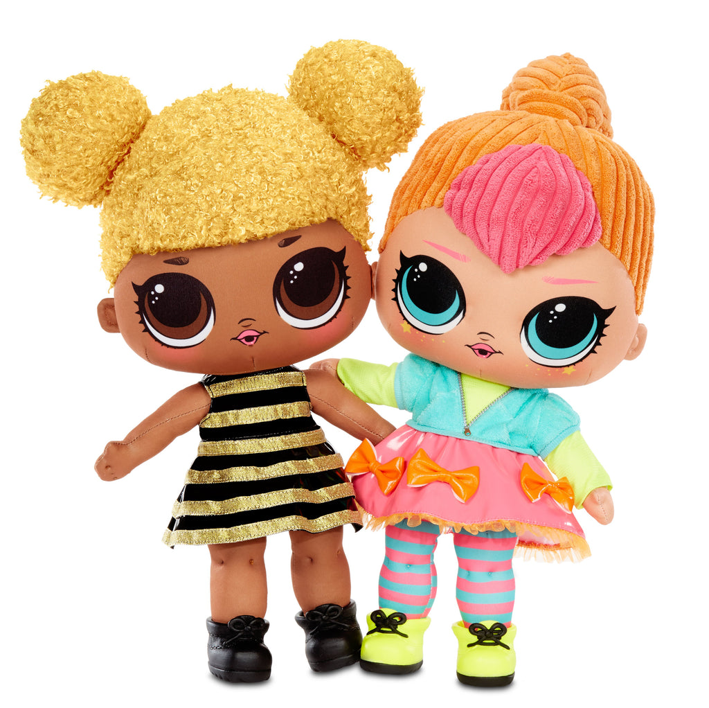 L.O.L. Surprise! Huggable, Soft Plush Doll - Neon QT - KidFocus