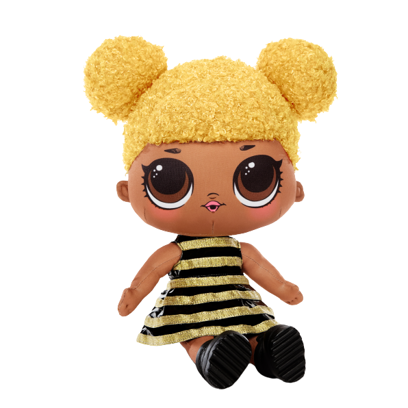 L.O.L. Surprise! Huggable, Soft Plush Doll - Queen Bee - KidFocus