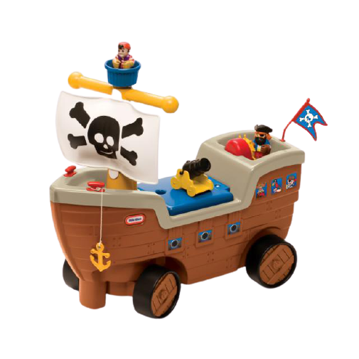 Little Tikes Play 'n Scoot Pirate Ship - KidFocus