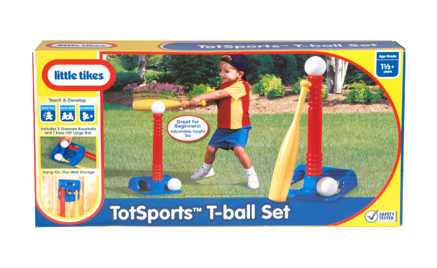 Totsports T-Ball Set-Red