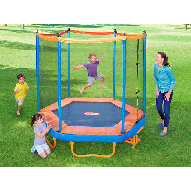 Easy Stor 7ft. Folding Trampoline