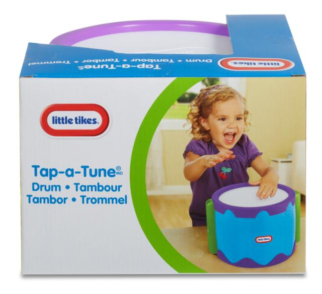 Little Tikes Tap-a-Tune Drum - KidFocus