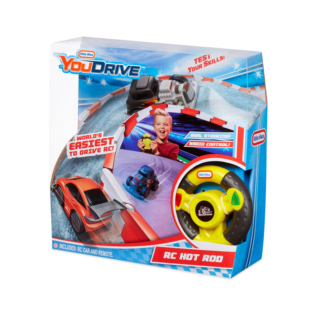 Little Tikes YouDrive Hotrod w/ flames w/ Easy Steering Remote Control