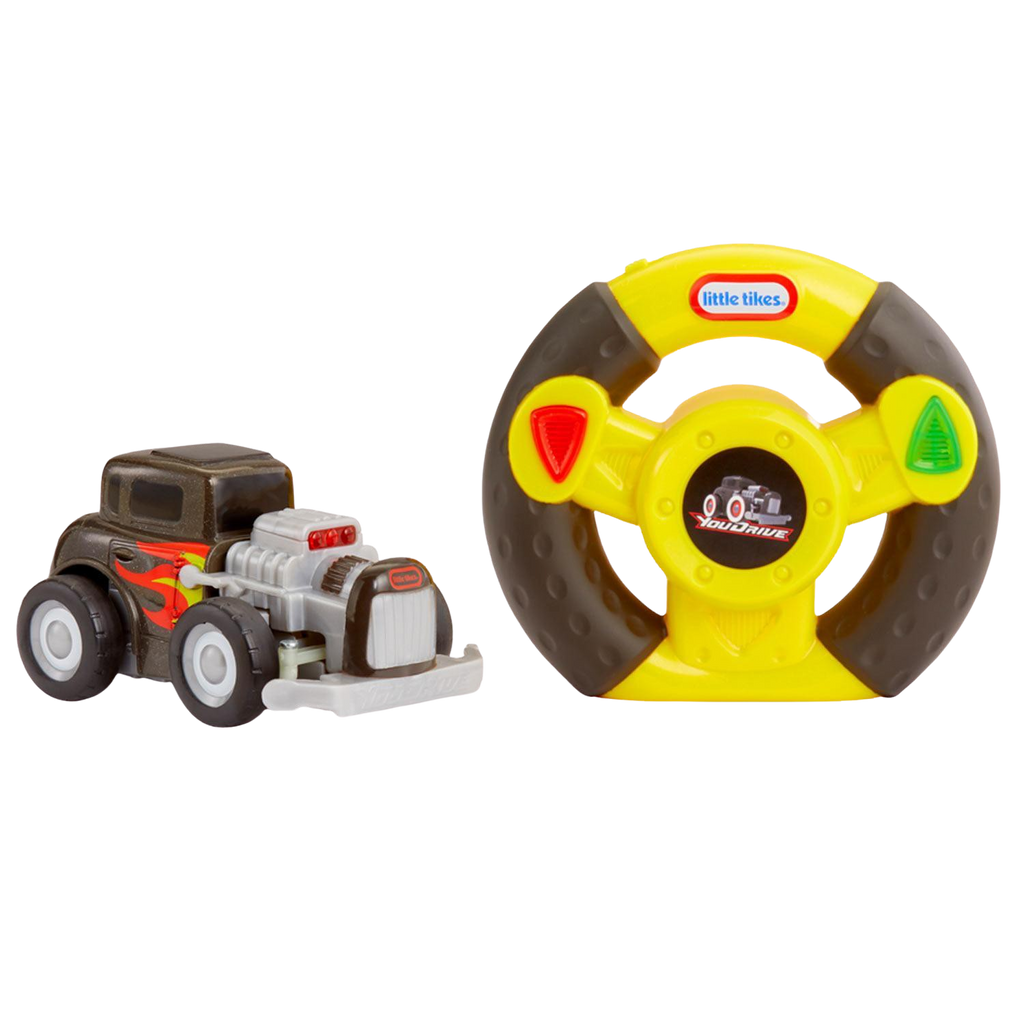 Little Tikes You Drive Hotrod with flames and Easy Steering Remote Control - KidFocus