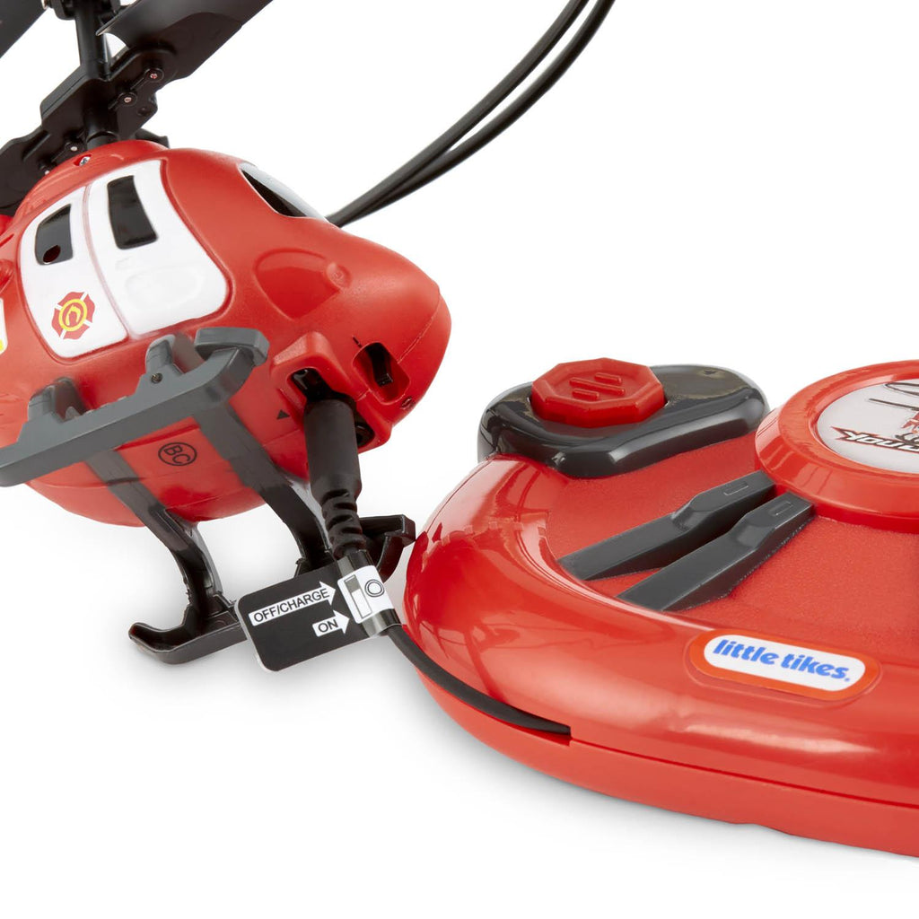 Little Tikes YouDrive Rescue Chopper Radio Control Helicopter with Lights