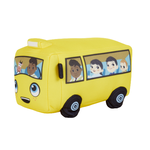 Little Baby Bum Wiggling Wheels on the Bus - KidFocus