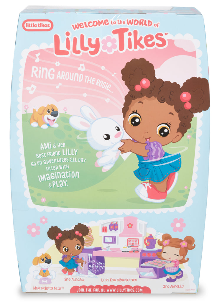 Sing-Along Ami 12-inch Lilly Tikes Preschool Doll by Little Tikes - KidFocus