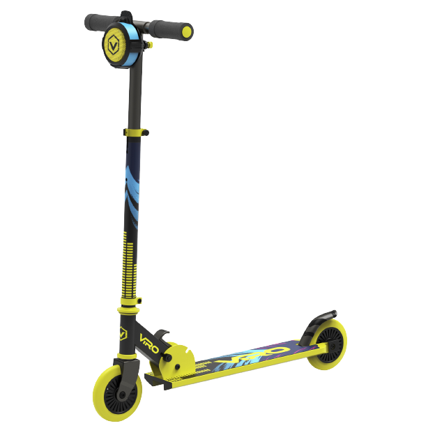 Viro Rides-VR 240 Soundtrack Kick Scooter-Yellow