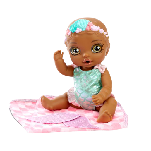 BABY born Surprise Mermaid - Pink Swaddle