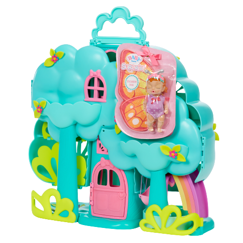 BABY born Surprise Treehouse Surprise Playset