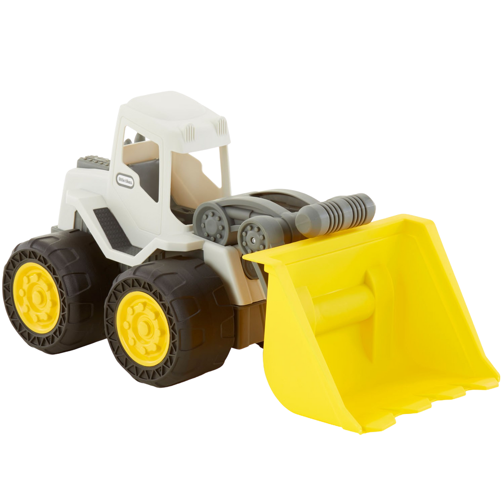 Dirt digger front end loader toy