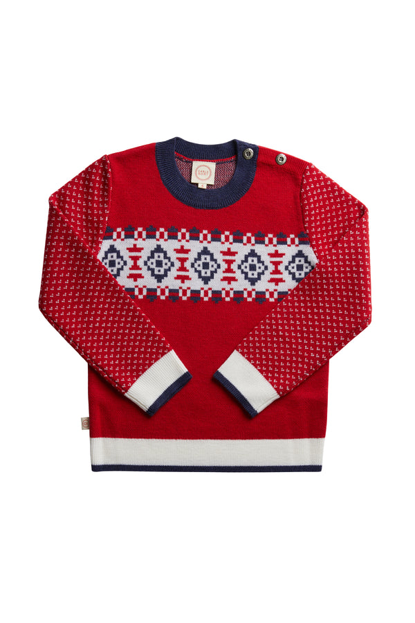 Alpine Jumper Red