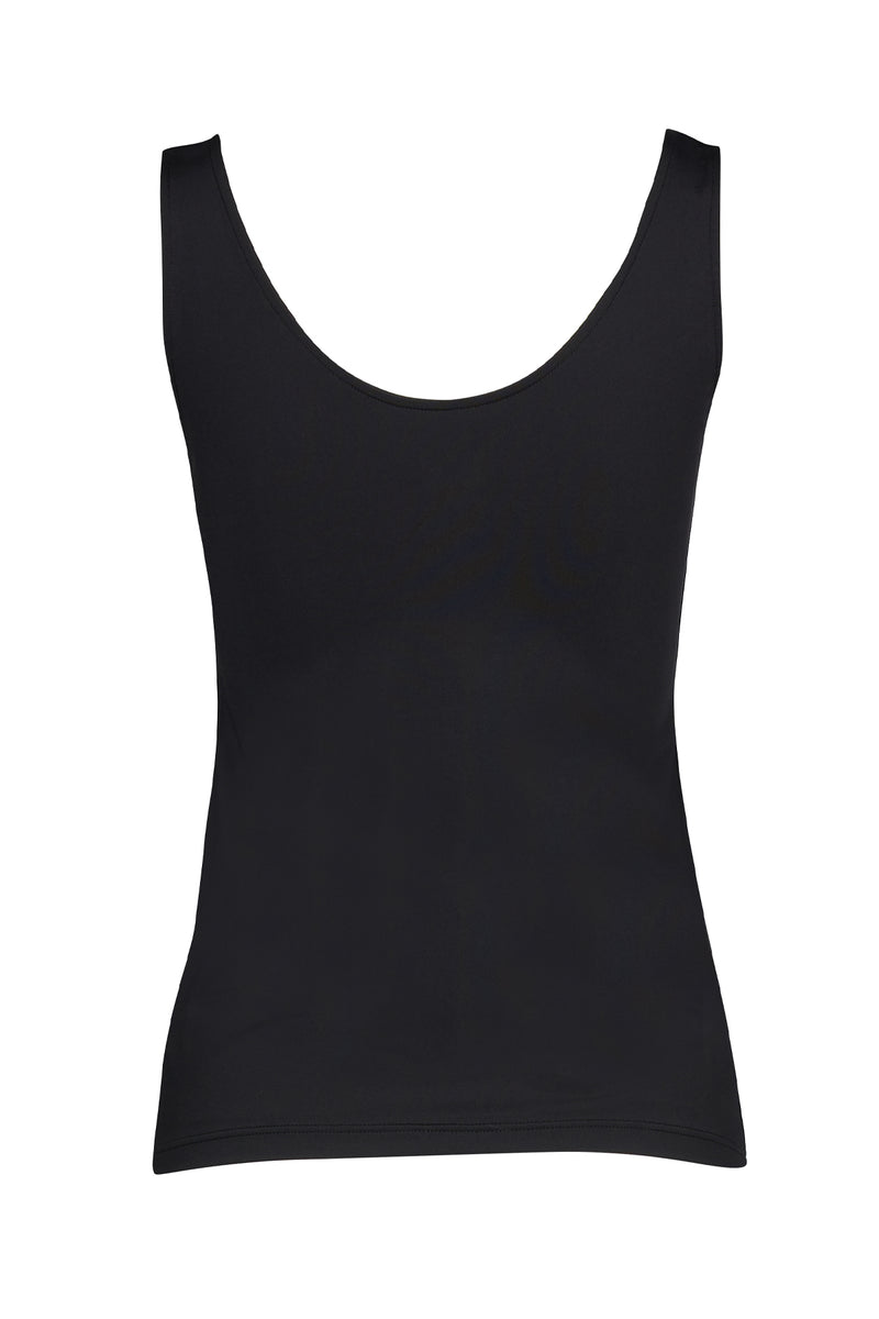 Basic Slip Cami Black Back