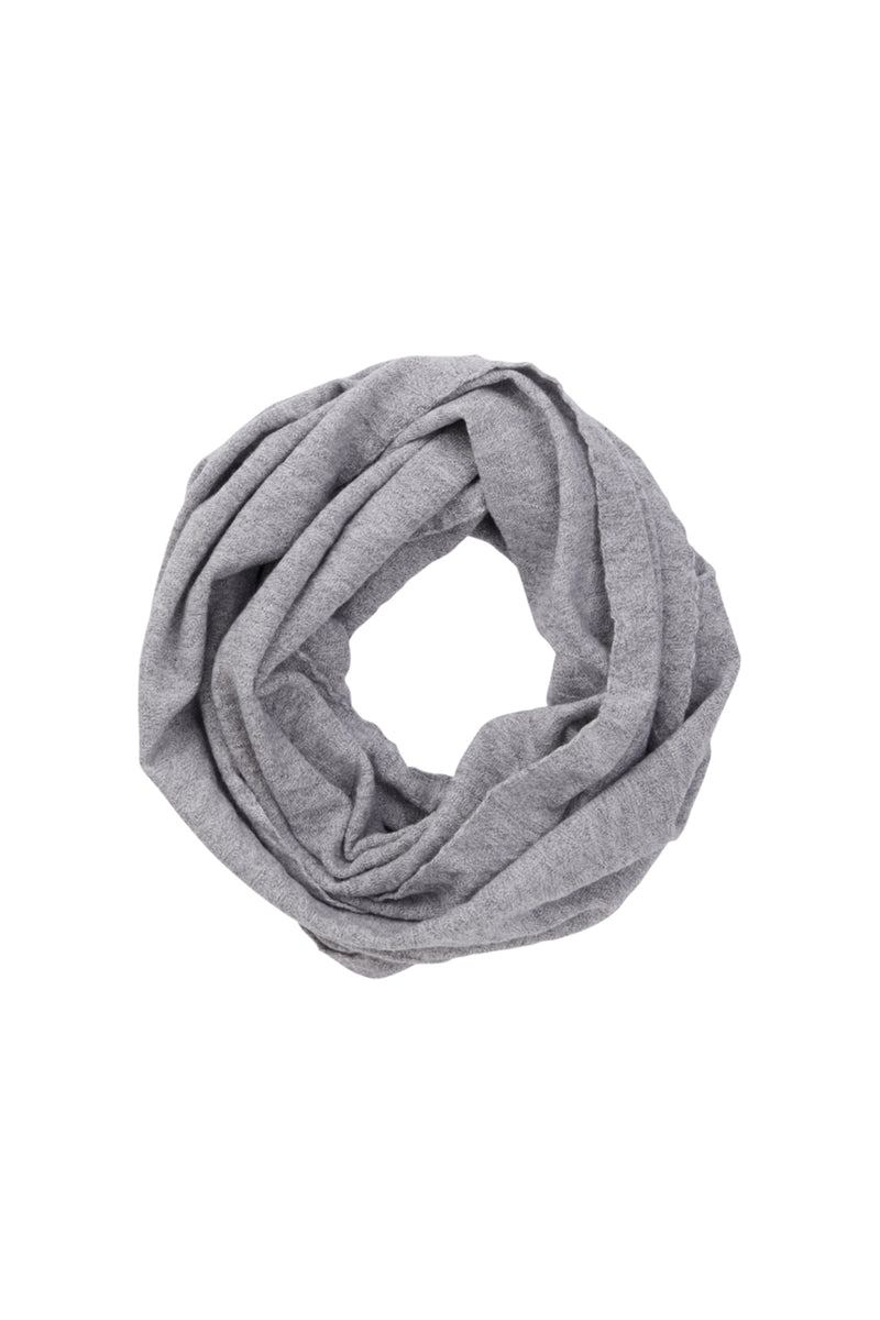 Merino Linky Loop Grey Marle