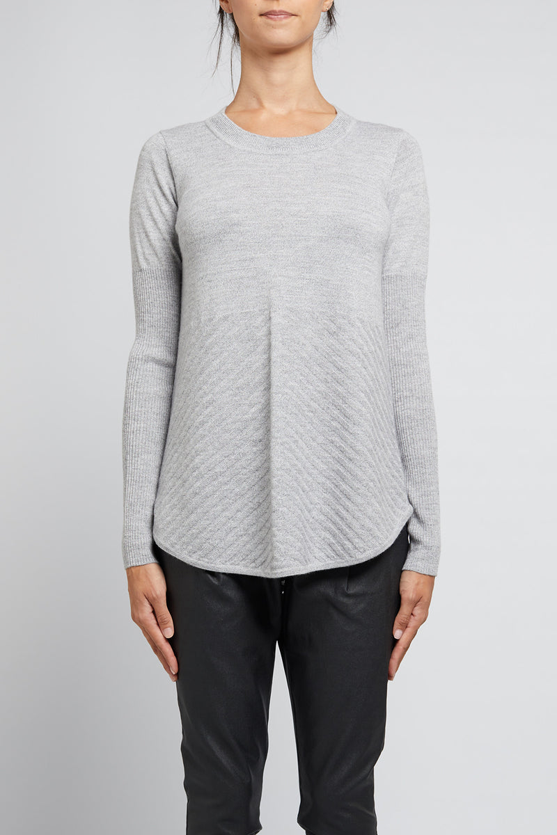 Cara Jumper Grey Marle