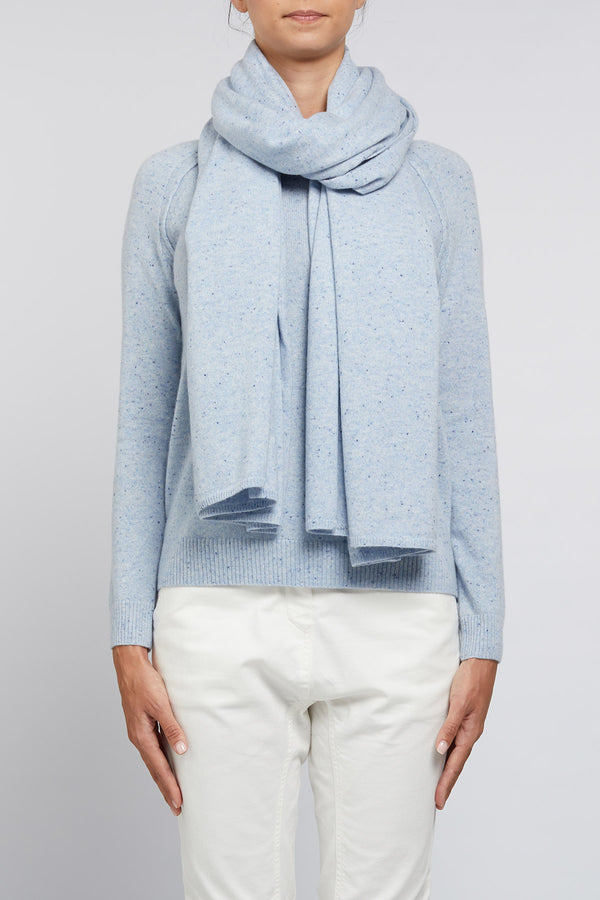 Cashmere Travel Wrap Chambray