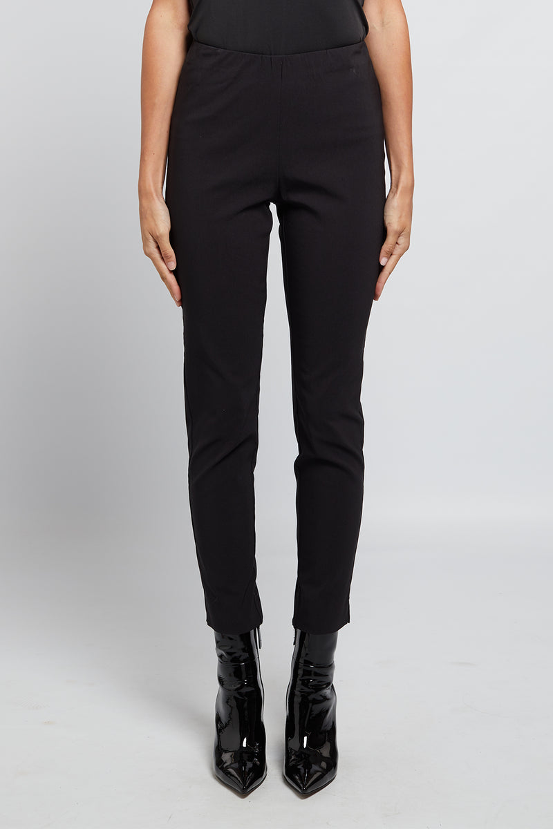 Liv Pull On Pant Black Front