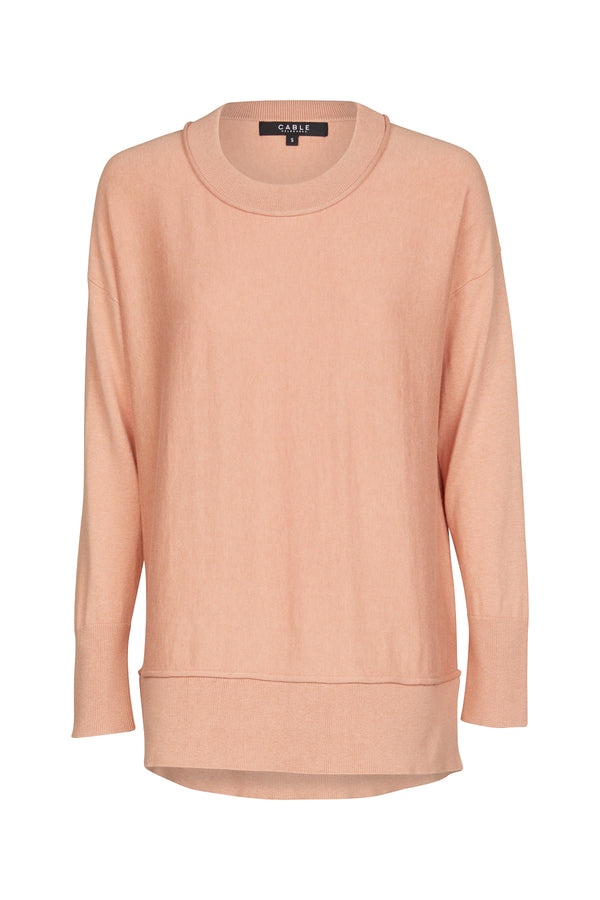 Peachskin Weekend Sweater Dune