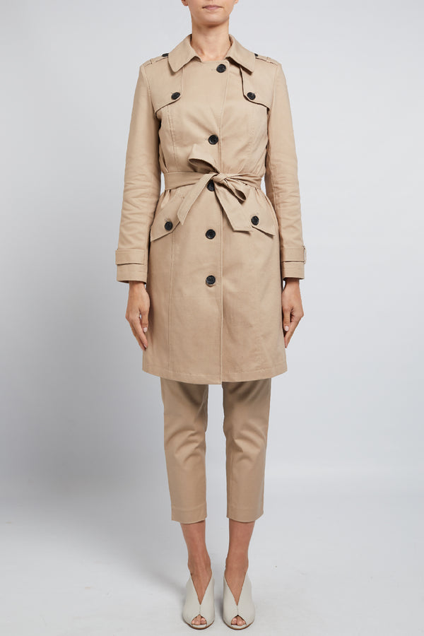Megan Trench Coat Stone