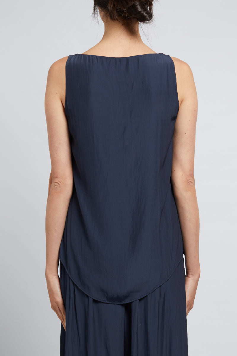 Freya Cami Navy Back