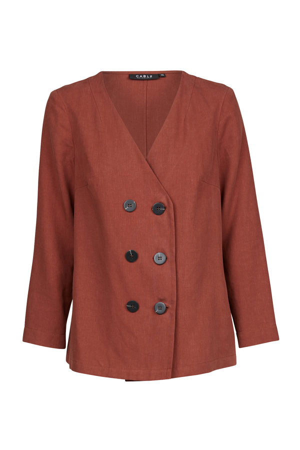 Greenwich Jacket Burnt Sienna