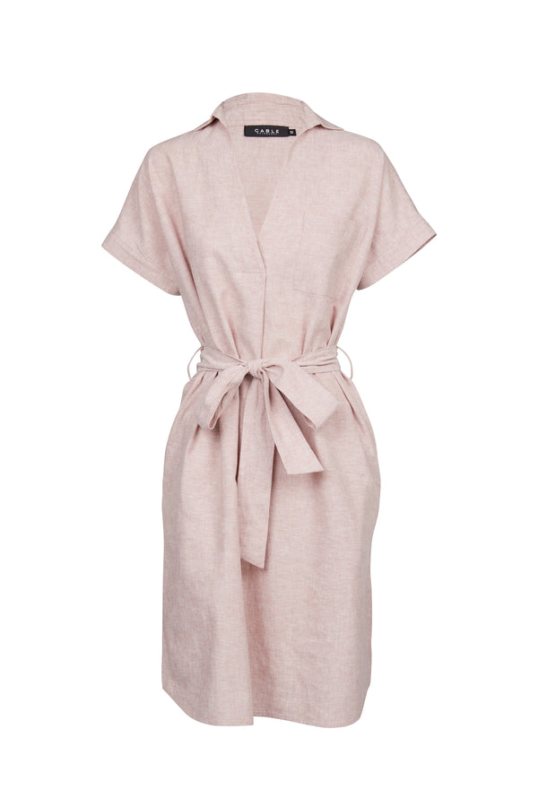 Sunday Linen Dress Musk