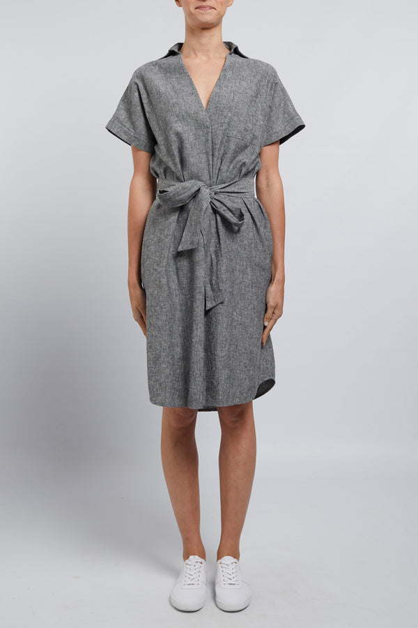 Sunday Linen Dress Pepper